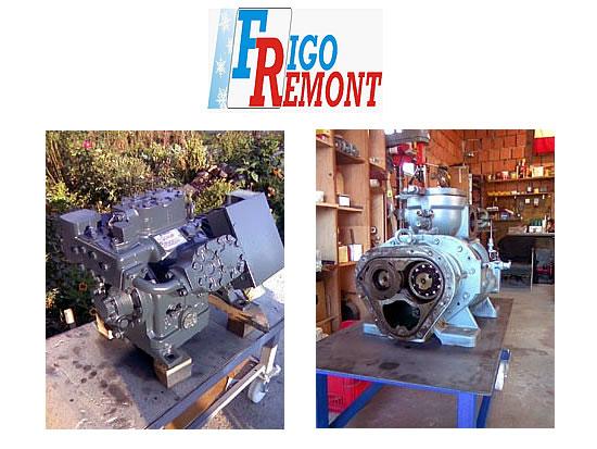 Remont i servis kompresora i pumpi Frigoremont