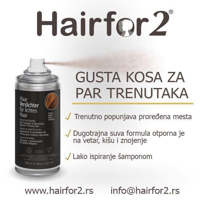 Gusta kosa trenutno Hairfor2