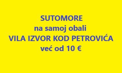 Vila Izvor kod Petrovića Sutomore