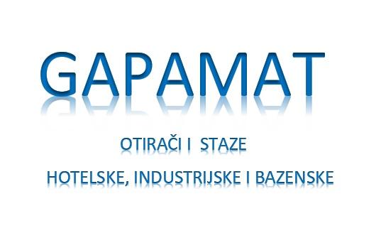 Hotelske staze i otiraci-GAPAMAT