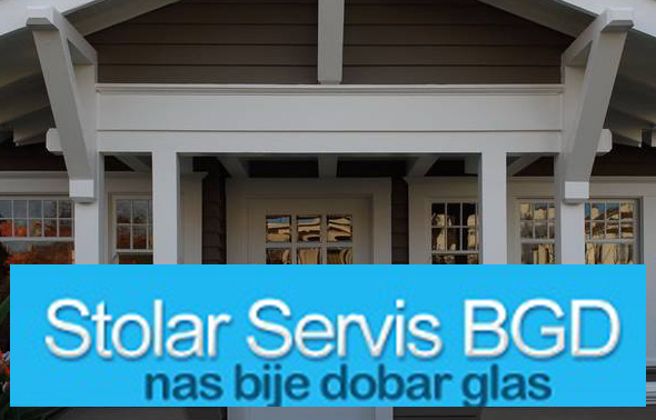 Servis i popravka štelovanje dihtovanje  PVC i Aluminijumske stolarije STOLAR SERVIS BGD