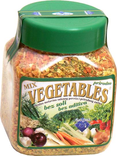 Sušeno povrće BOIKGOLD