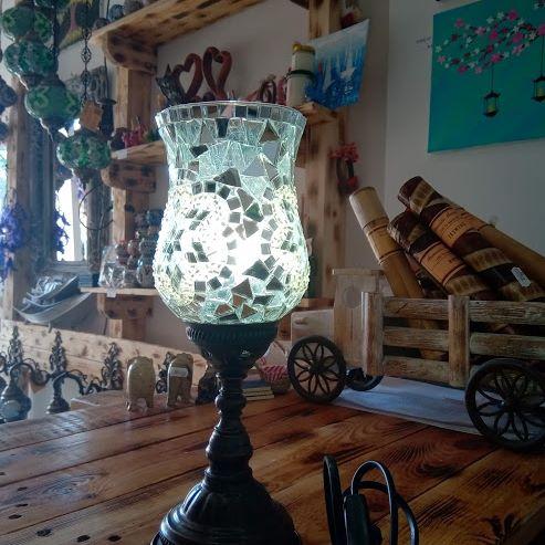 Mozaik lusteri i lampe
