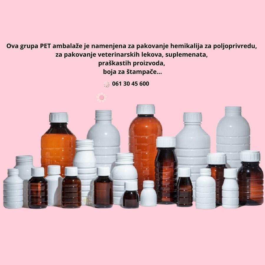 Flašice za hemijsku industriju